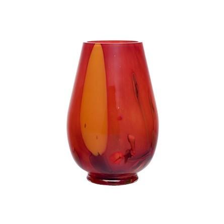 Lampe urne planète rouge