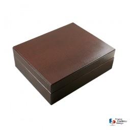 Porte cartes et billets en cuir noir