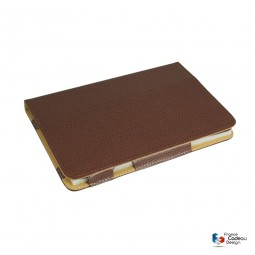 Etui IPAD mini en cuir marron